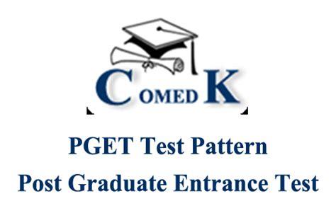 comedk exam pattern for engineering comedk pget 2016 application form comedk pget date