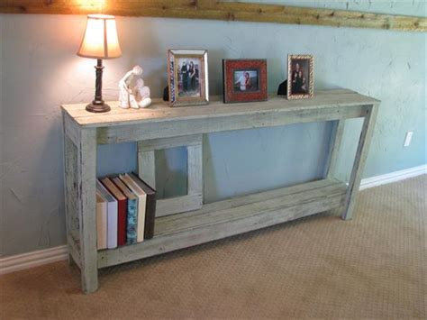 Diy Rustic Pallet Sofa Table Pallet Furniture Plans Pallet Sofa Table
