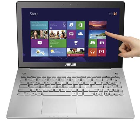 Laptop Asus Touchscreen 14 Inch asus n550jx ds74t touchscreen laptop