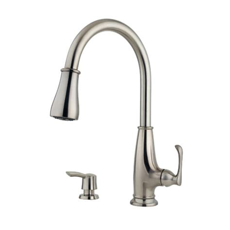 pfister kitchen faucet pfister f 529 7ays ainsley single handle high arc pull