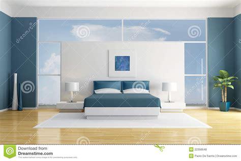 blaues schlafzimmer blaues schlafzimmer lizenzfreie stockfotos bild 22356648