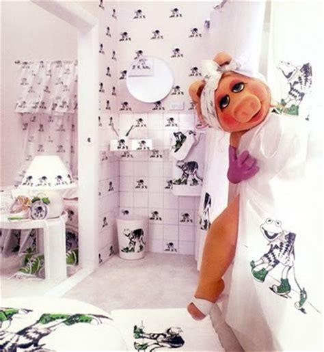 muppets shower curtain the astute bloggers guaranteed not halal miss piggy