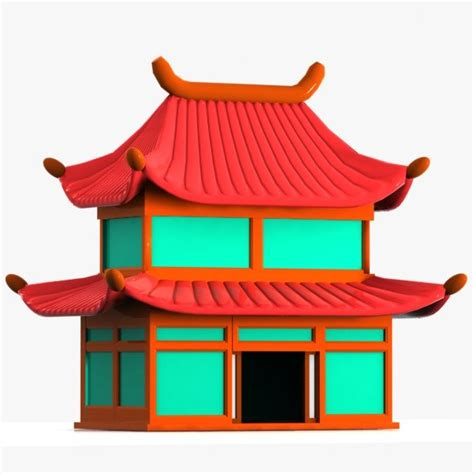 chinese house chinese 3d and house on pinterest
