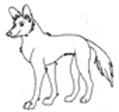how to draw african wilddog