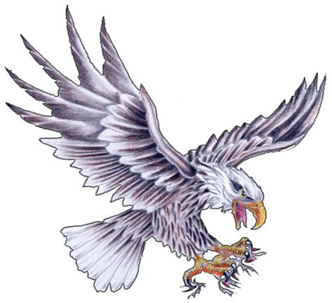 tattoo eagle drawing eagle tattoos designs 71 png 520 215 476 พ กเซล ลายเส น