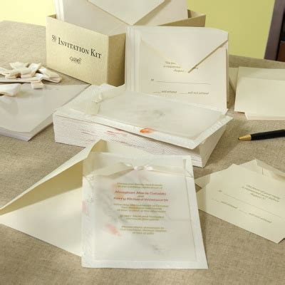 Wedding Invitations Kits Diy by Gallery For Gt Diy Wedding Invitation Kits