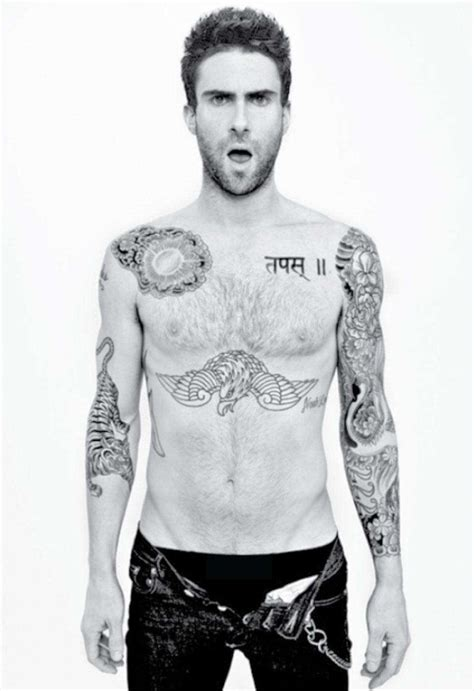 adam levine tattoos list of adam levine tattoo designs