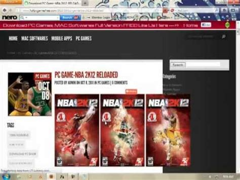 free full version pc games easy download 100 free download nba 2k12 game for pc reloaded full version free