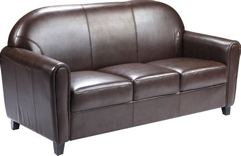 commercial sofa coffeehouse seating commercial brown leather sofa ships