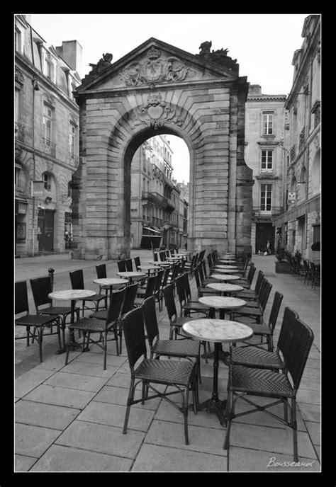 Photos de Bordeaux en noir et blanc. Photographies de