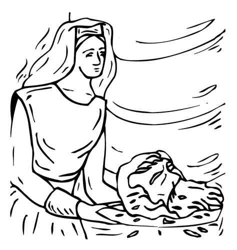 coloring pages john the baptist john the baptist coloring pages for kids coloring home