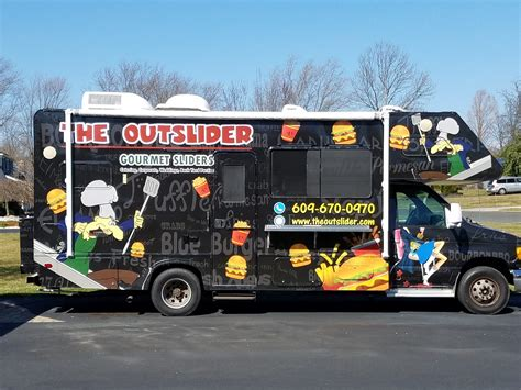 Nj Food Truck Faves The Outslider Jersey Bites