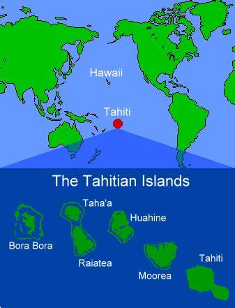 Tahiti islands on world map gumiabroncs Choice Image