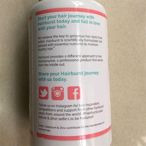 hairburst vitamins reviews hairburst healthy hair vitamins 6 nicolesreviews