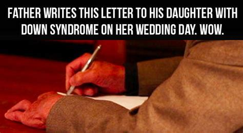 dad writes touching letter to daughter with down syndrome heartwarming rewarding uplifting stories