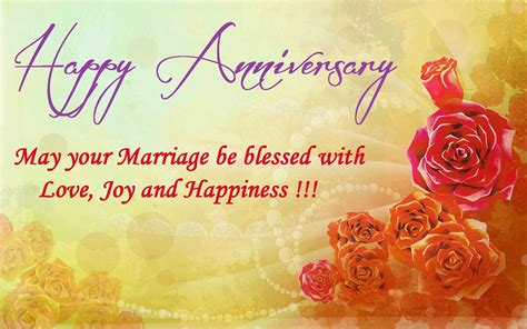 Wedding Anniversary Wishes For And In by Happy Anniversary Pictures Quotes And Wishes
