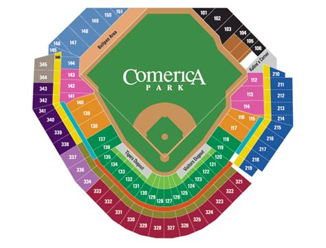 tiger seating detroit tigers seating chart myideasbedroom