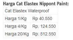 Merk Cat Tembok Untuk Interior harga cat tembok no drop untuk interior dan exterior
