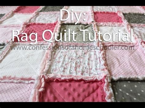 how do you pattern an idea how to make a rag quilt tutorial youtube