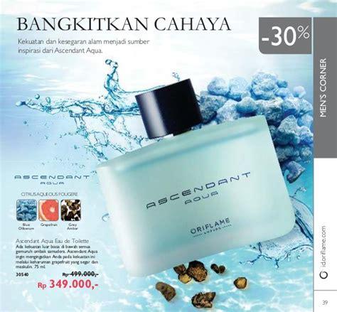 Parfum Dengan Aroma Segar Ascendent Aqua Dari Oriflame katalog oriflame november 2016 indonesia