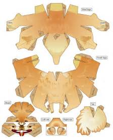 Animal Paper Crafts Templates by Insan
