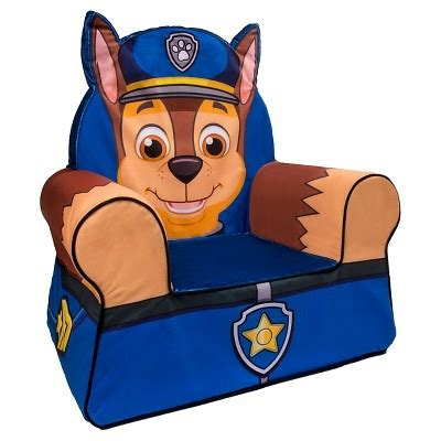paw patrol desk chair marshmallow comfy chair paw patrol chase target