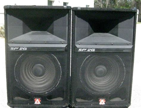 Mixer Black Widow 16ch used pa speakers ebay autos post