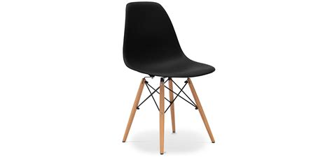chaises dsw eames chaise dsw charles eames style polypropyl 232 ne matt pas cher