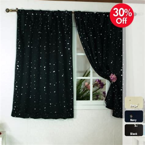 star print curtains buying blackout window curtains online star print thermal