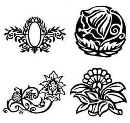 imagenes vectoriales florales flores de lujo florales vectores marco oval descargar