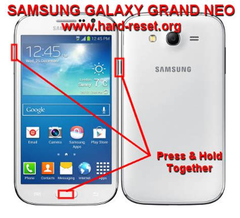 reset samsung a3 button how to easily master format samsung galaxy grand neo gt