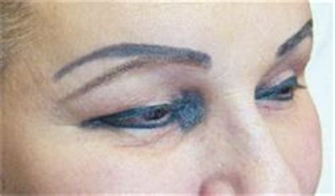 eyeliner tattoo gone wrong permanent makeup gone wrong countryhabit