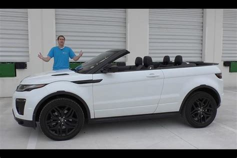 convertible land rover cost i can t believe the range rover evoque convertible costs