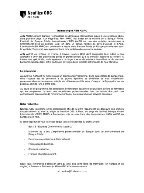 Lettre De Motivation Anglais Word Modele Lettre De Motivation En Anglais Pdf Document