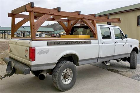 timber frame truck rack professional deck builder