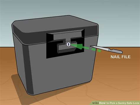 sentry safe file 3 ways to pick a sentry safe lock wikihow
