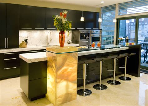 luxurious island design ideas for high end kitchen countertops