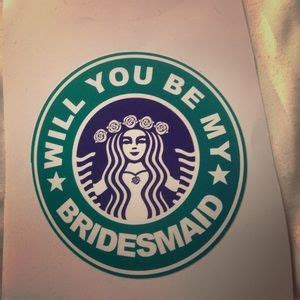Will You Be My Bridesmaid Stickers