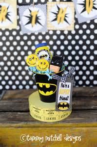 Diy Batman Favors by Boy Batman Ideas Pink
