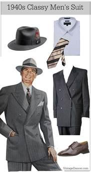 Classy Wedding Lingerie 1940s Men S Fashion Amp Costume Ideas