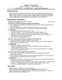 Free blank chronological resume template job resume samples