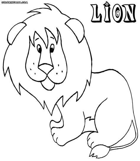 lion coloring pages pdf lion coloring pages coloring pages to download and print