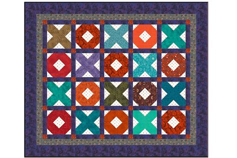 o patterns x s and o s baby quilt pattern with easy sashing