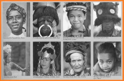 Eksiklopedi Suku Bangsa Di Indonesia ras dan suku bangsa di indonesia asal usul nenek moyang