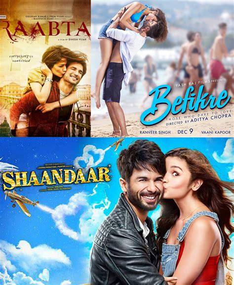 bollywood news and gossip bollywood movie reviews and raabta shaandar befikre 5 bollywood movie posters that