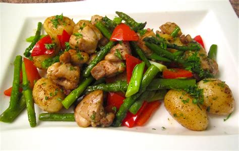 sauteed chicken potatoes vegetables chefsopinion