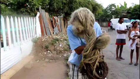 youtube the woman with the longest pubic hair in the world the longest hair on a rastaman growing for 40 years