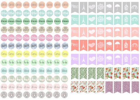 doodle crear calendario free printable stickers filofax mi coqueta