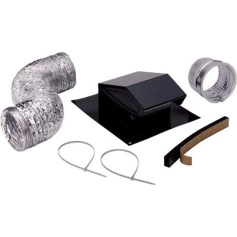 Kitchen Exhaust Fan Roof Vents Broan Roof Vent Kit Duct For Installation Of Bathroom