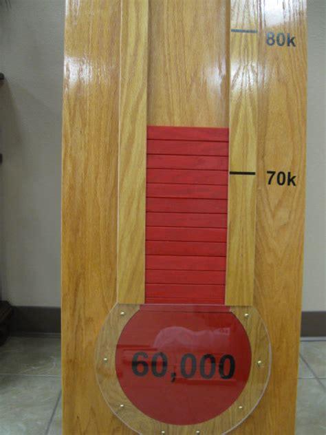 fundraising thermometer  gpaw  lumberjockscom woodworking community